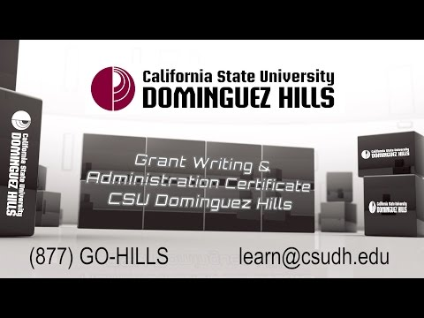 Grant Writing & Administration Certificate @ CSU Dominguez Hills