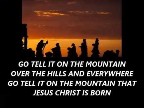 GO TELL IT ON THE MOUNTAIN Bluegrass with lyrics