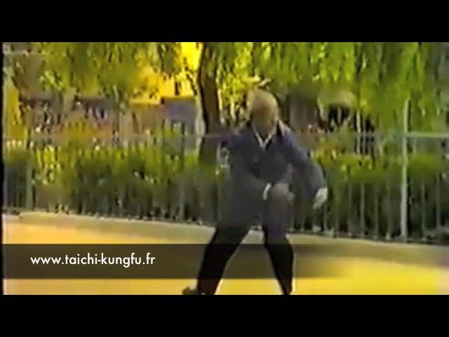 Vidéo Ancienne 8/12 - Tai Chi style Chen Xiaojia Yilu par Liu Yan (77 ans)
