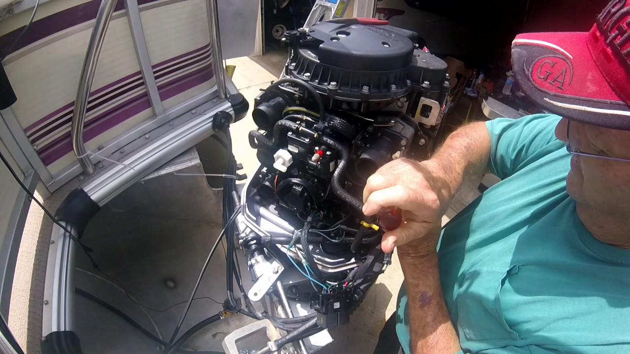 Force Outboard Ignition Wiring Diagram How To Repair Primer Solenoid On Johnson 150 Hp Outboard