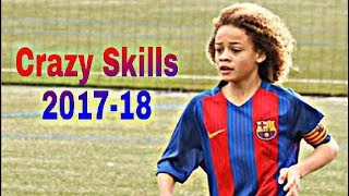 Xavi Simons ● Crazy Skills and Goals 2017-18 |HD|