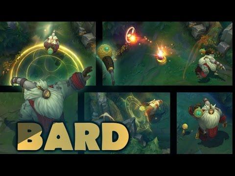 LMHT : Bard - Tướng mới sắp ra với dàn kĩ năng cực kì sáng tạo