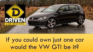 2017 Volkswagen Golf GTI SE Car Review
