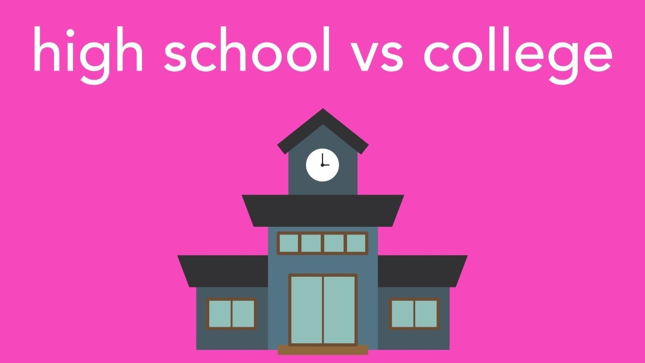 high school vs college The culture of college students is much more diverse because there is a huge number of students inside a college each student has their own nationality, college students live in different locations from all over the country and cultures from high school are brought into college by the students.