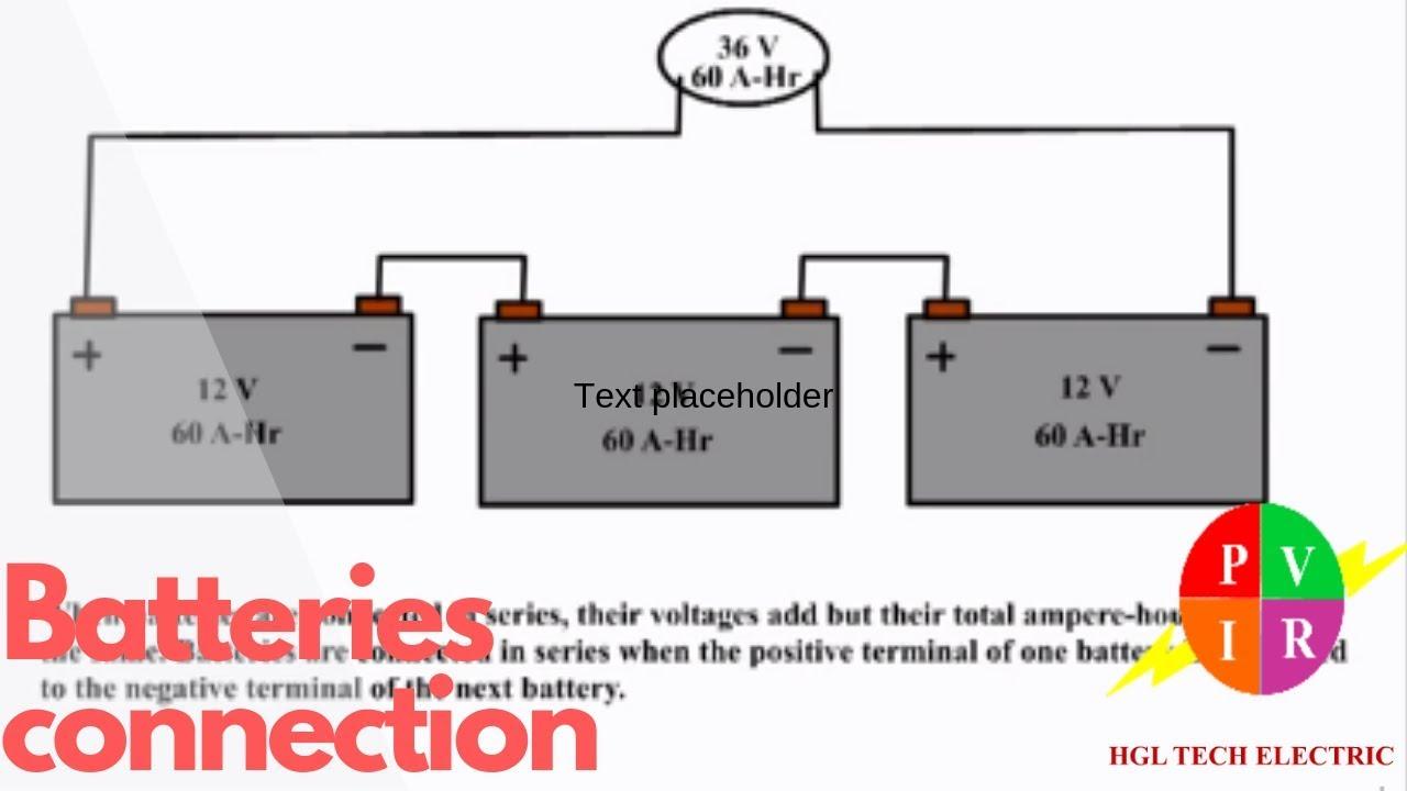 batteries in series batteries in parallel batteries in series vs parallel  [ 1280 x 720 Pixel ]