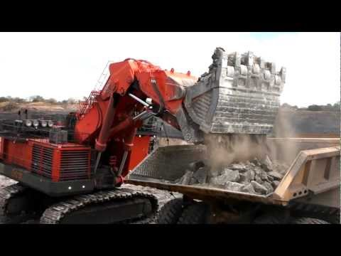 Hitachi EX8000-6 Excavator in Mozambique