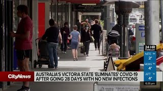 Australia's Victoria state goes 28 days without a COVID-19 case