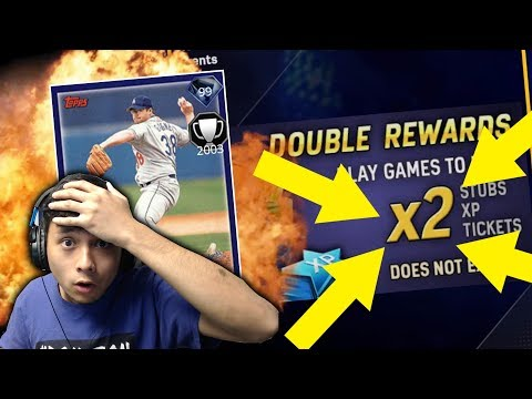 NO HITTER?! DOUBLE XP STUBS AND TICKETS! NEW 99 ERIC GAGNE | MLB THE SHOW 17 DIAMOND DYNASTY