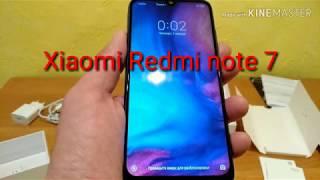 Redmi note 7 розпакування