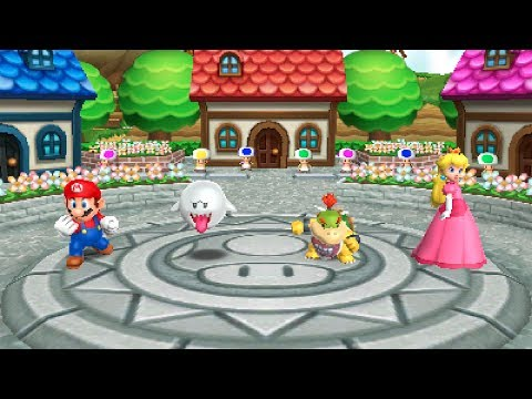 Mario Party: Island Tour - Perilous Palace Path