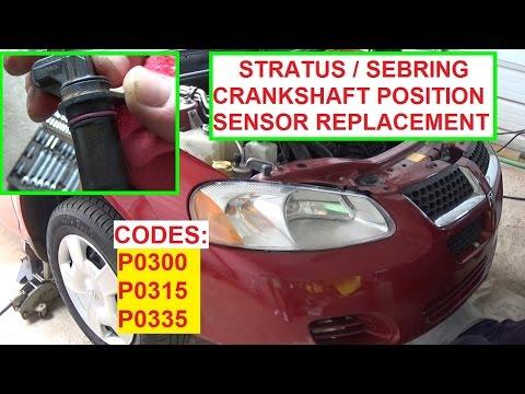 Crankshaft Position Sensor Replacement Dodge Stratus / Chrysler