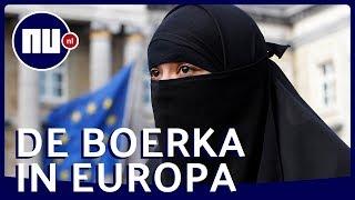 Hoe gaan Europese buren om met het 'boerkaverbod'? | NU.nl
