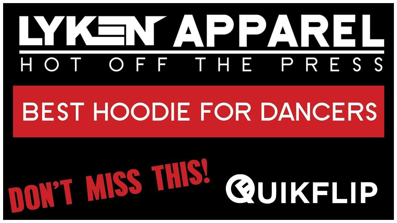 Best Hoodie for Bboys and Dancers | QuickFlip Apparel - Hero Hoodie | Customizable by Lyken Apparel