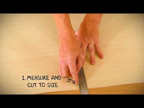 CubeFlex Pre-Finished Durable Wood Veneer for DIY Home Improvement and Arts&Craft