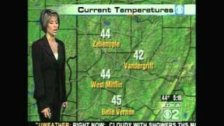 KDKA Weather - November 12, 2008 - 5 am newscast
