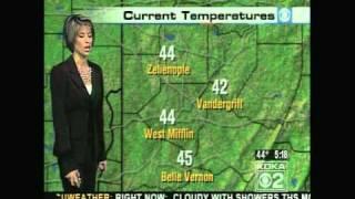 KDKA Weather - November 12, 2008 - 5 am newscast