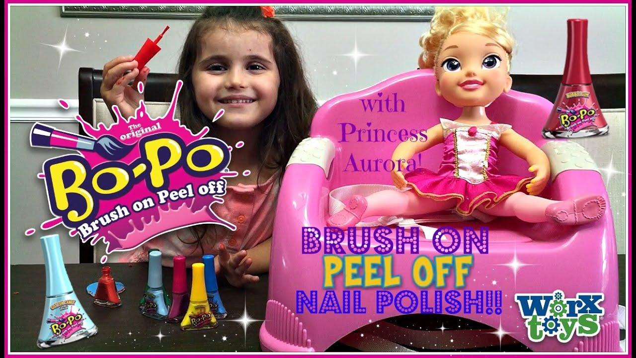 bo-po nail polish with princess
