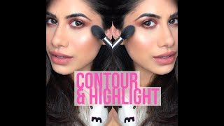 How to : Contour & Highlight | Updated Routine | Informative video | Malvika Sitlani