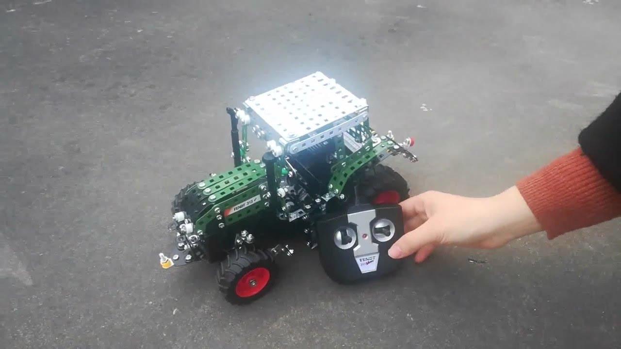 Rcee Tronico Junior Rc Fendt 313 Vario Bau- & Konstruktionsspielzeug-sets Spielzeug