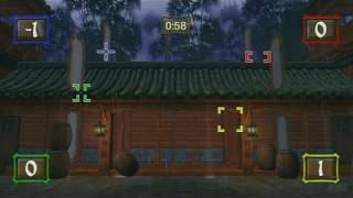 Ninja Reflex Nintendo Wii Gameplay - Shuriken