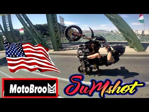 USA STYLE ON BUDAPESTS STREETS WITH MOTOBROO! USA STÍLUS BUD