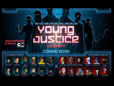 YOUNG JUSTICE LEGACY - E3 2013 Trailer [HD]