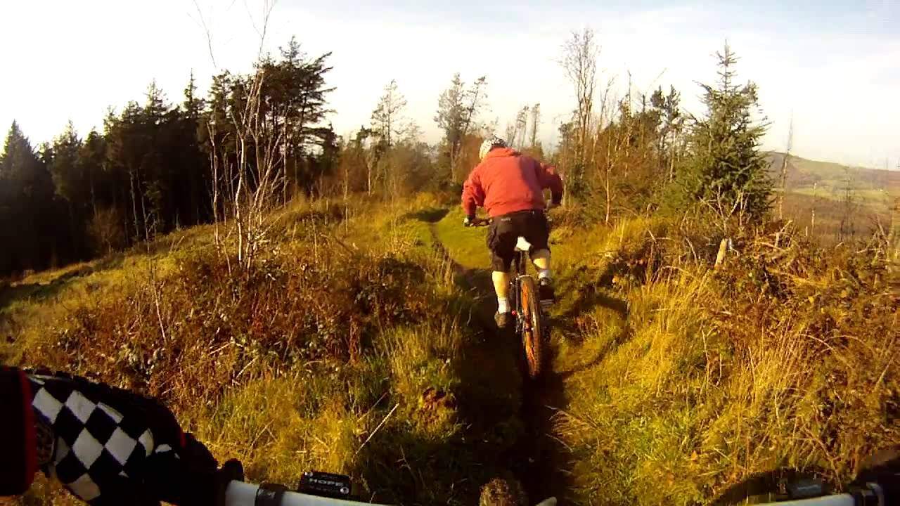 Download Macclesfield forest Downhill Top section chase camera GoPro HD DH