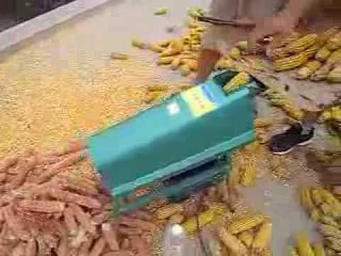 corn seed remover machine