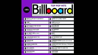 Billboard Top Pop Hits - 1984