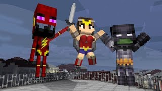 Monster School: Justice League - Minecraft Animation