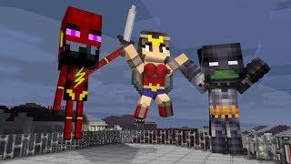 Monster School: Justice League - Minecraft Animation