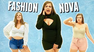 Brutally Honest Fashion Nova Try On Haul & Review || Sierra Schultzzie
