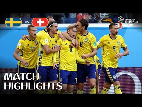 Sweden v Switzerland - 2018 FIFA World Cup Russia™ - Match 55