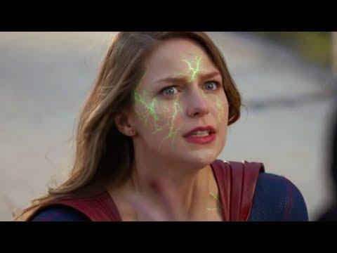 Kara vs Queen Rhea Fight - Supergirl 2x22