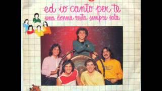 I COLLAGE    UNA DONNA RESTA SEMPRE SOLA      1982