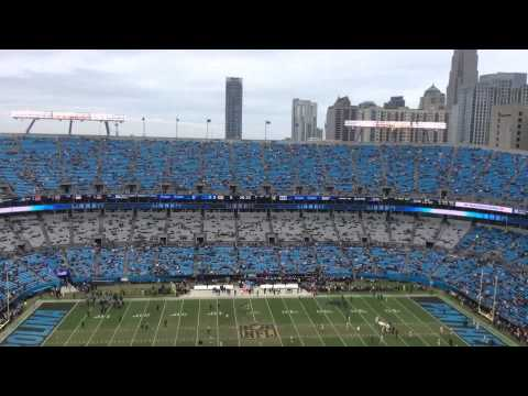Watch Bank of America stadium fill up with fans in 30 seconds