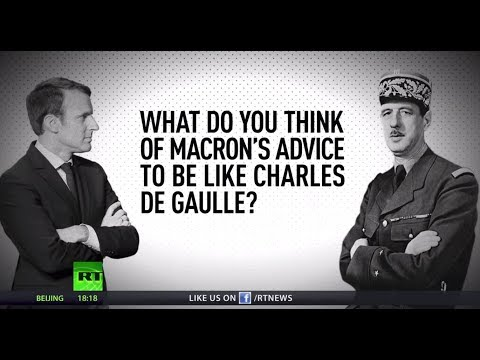 Stop moaning, be like Charles de Gaulle! Macron admonishes the French