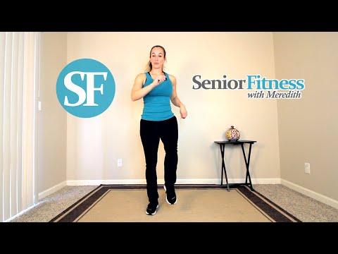 Senior Fitness - Low Impact Salsa Dance Cardio Exercises For Beginners