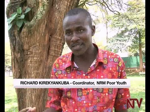 "Who exactly are the ""NRM poor youth"" ?"