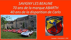 70 ans Abarth à Savigny Les Beaune