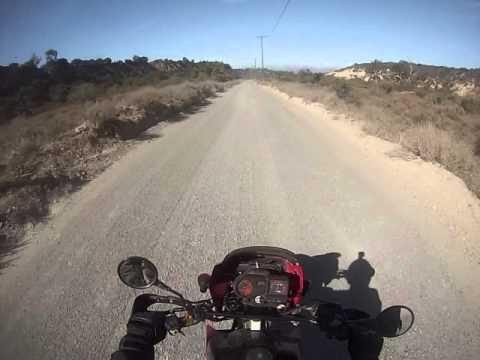 KLR 650 on Holy Jim Trail, Trabuco Canyon and Live Oak Canyon Roads.