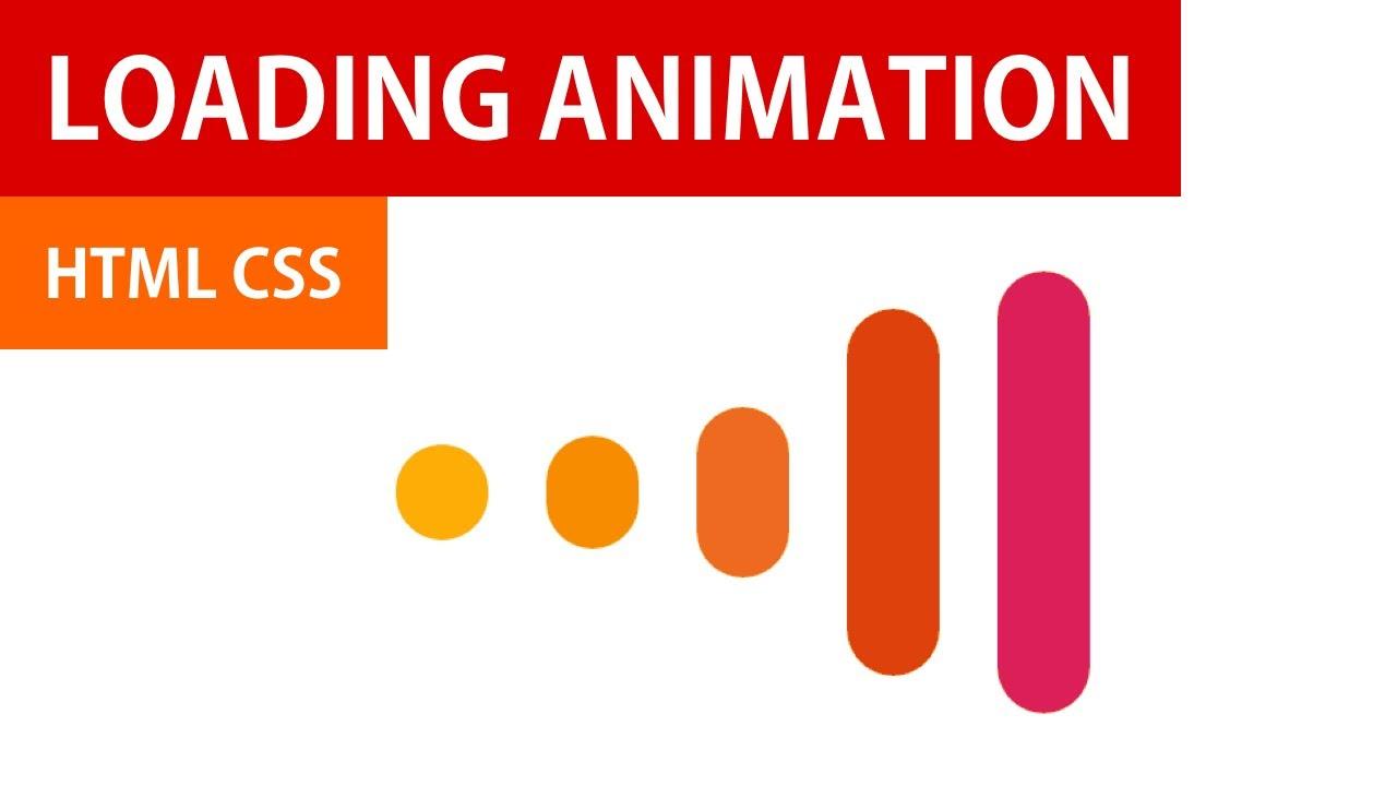 Loading Animation HTML CSS