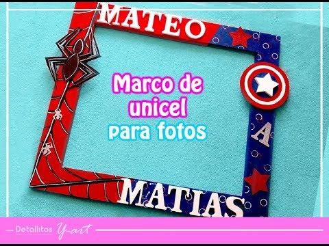 Marco De Unicel Para Fotos  Fácil
