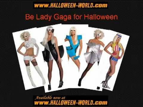 Lady Gaga Costume Ideas for Halloween 2011