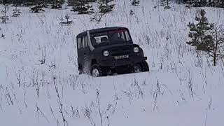 УАЗ на двигателе ЗМЗ-406