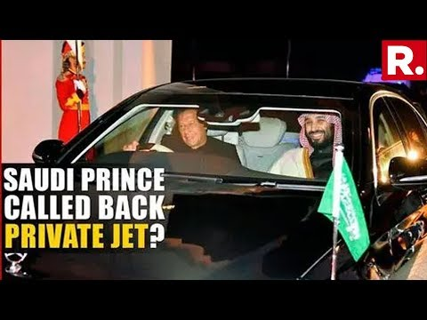 Massive Embarrassment: Saudi Prince Snubs Pakistan PM Imran Khan, Recalls Private Jet