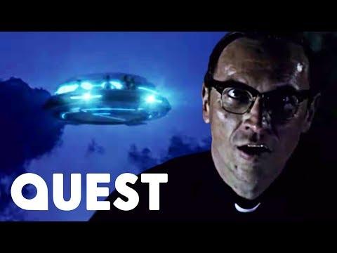 People Communicate With Strange Alien Figures On Board UFO | Close Encounters