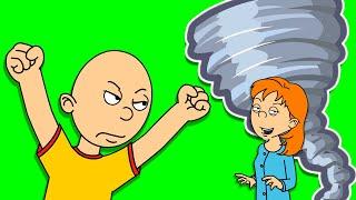 Caillou VS The Tornado