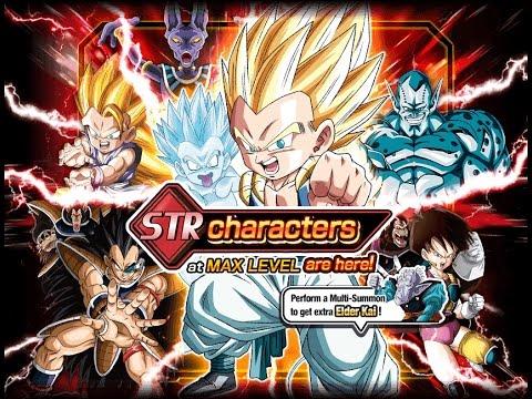 500 STONES SUMMON! STR Max Level Banner Summons   DBZ Dokkan Battle