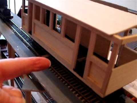 model train gn15 layout wikiwood 1/24th scale